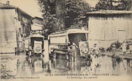 Guerre 14 / 18  Triaucourt  / Seuil D'Argonne  - Le Nettoyage Des Autobus - - Clermont En Argonne