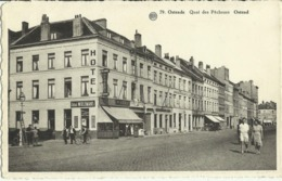 Ostende -- Quai  Des  Pêcheurs.    (2 Scans) - Oostende