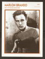 PORTRAIT DE STAR 1951 ÉTATS UNIS USA - ACTEUR MARLON BRANDO TRAMWAY - UNITED STATES USA ACTOR CINEMA FILM PHOTO - Fotos