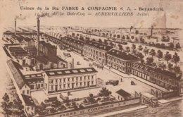 Aubervilliers - Usines De La Sté Fabre Et Compagnie - Boyauderie - Aubervilliers