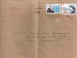 TP 3349 Et 3297 Sur Enveloppe D  Issy Les Moulineaux - Storia Postale
