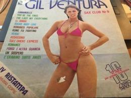 GIL VENTURA SAX CLUB NR 9 EMI ODEON 3C054-18074 OTTIMO - Soundtracks, Film Music