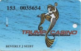 Carte Casino : Trump Casino : Buffington Harbor, Indiana - Cartes De Casino