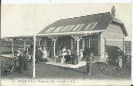 POURVILLE - Terrain De Golf , Le Café - Francia