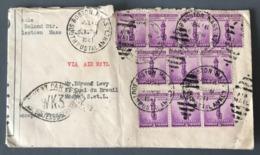 USA, Lettre Pour Macon 1941 - Censure WK3 - (B2473) - Guerre De 1939-45