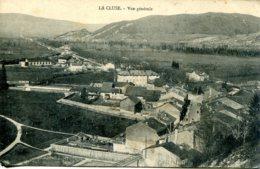 CPA - LA CLUSE - VUE GENERALE - Francia