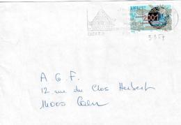 TP 3357 Seul Sur Enveloppe De Caen RP - Storia Postale