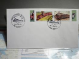 Chemin De Fer De La Baie De Somme Fête De La Vapeur 2003 26 & 27 Avril 2003 Le Crotoy - Poststempel (Briefe)