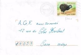 TP 3360 Seul Sur Enveloppe De Lisieux - Storia Postale