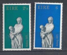 Irlande 1971 N°274/275 Neufs ** Noël - 1949-... República Irlandése