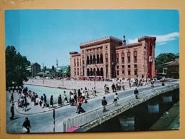KOV 303-12 -  SARAJEVO, BOSNIA AND HERZEGOVINA, BIBLIOTEKA, LIBRARY, BIBLIOTHEK, - Bosnia Y Herzegovina