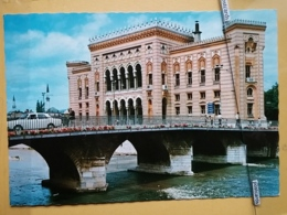 KOV 303-12 -  SARAJEVO, BOSNIA AND HERZEGOVINA, BIBLIOTEKA, LIBRARY, BIBLIOTHEK, - Bosnia Erzegovina