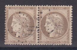 CP 156 / CERES N° 56 PAIRE OBL COTE 18€ - 1871-1875 Cérès
