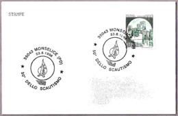 50 Aniv. SCOUTS. Monselice, Padova, 1996 - Pfadfinder-Bewegung