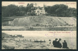 1909 Denmark Aarhus Postcard Sær-maskinstempel Aarhus Landsudstill. Exhibition Machine Cancel - 1905-12 (Frederik VIII)