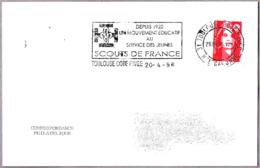 Desde 1920, SCOUTS DE FRANCIA. Toulouse 1996 - Pfadfinder-Bewegung