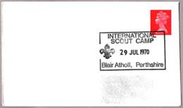 INTERNATIONAL SCOUT CAMP. Blair Atholl, Perthshire 1970 - Pfadfinder-Bewegung