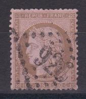 CP 156 / CERES N° 58 OBL COTE 18€ - 1871-1875 Cérès