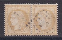 CP 156 / CERES N° 59 PAIRE OBL COTE 18€ - 1871-1875 Cérès