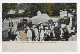 H.H. The Nizam Leaving The Residency,  Hyderabad - India
