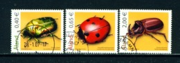 ALAND  -  2006 Beetles Set Used As Scan - Aland
