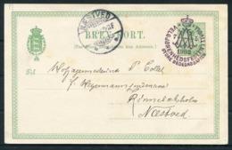 1903 Denmark Paul Fischer Postcard. Tivoli Festival - Naested - 1864-04 (Christian IX)