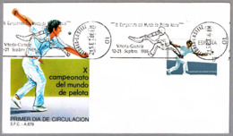 Campeonato Del Mundo De PELOTA VASCA - World Champ. Basque Pelota. Vitoria-Gasteiz, Alava, 1986 - Briefmarken