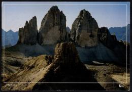 ITALIA DOBBIAGO 1997 - TORRE DI TOBLIN CON LE TRE CIME DI LAVAREDO - VIAGGIATA - FRANCOBOLLO POSITANO - Other Cities