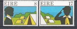 Irlande 1977 Série N°366/367 Neuve** Scouts - 1949-... República Irlandése