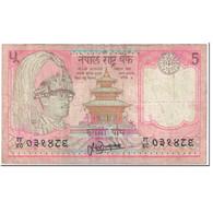 Billet, Népal, 5 Rupees, 1995, Undated (1995), KM:30a, B - Nepal