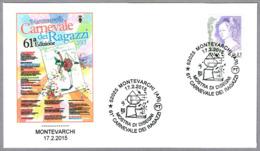 61 CARNAVAL INFANTIL - PINOCHO - PINOCCHIO. Montevarchi, Arezzo, 2015 - Carnival