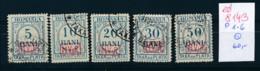 D.-Post Rumänien Nr. Porto 1-6    O    (ed8143     ) Siehe Scan - Ocupación 1914 – 18