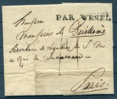 """Par Wesel"" Prestamp Vorphila Wrapper - Paris France - Danimarca"