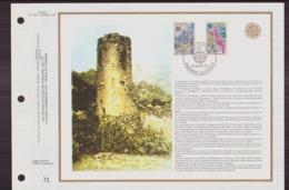 """Document De La Poste """" Europa """" Du 30 Avril 1977 à Andorre-la-vieille - Andorre Français"""