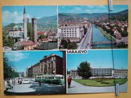 KOV 303-13 -  SARAJEVO, BOSNIA AND HERZEGOVINA, TRAMWAY, TROLLEYCAR, MOSQUE, DZAMIJA - Bosnia Erzegovina
