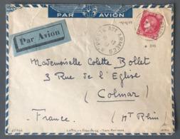 France N°373 Sur Lettre En Franchise - TAD POSTE AUX ARMEES 1939 - (B2487) - Guerre De 1939-45