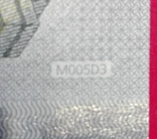 5 EURO M005 D3 PORTUGAL M005D3 -  - UNC FDS NEUF - EURO