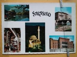 KOV 303-14 -  SARAJEVO, BOSNIA AND HERZEGOVINA, MOSQUE,  DZAMIJA - Bosnia Erzegovina