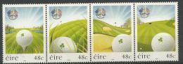 Irlande 2006 N°1717/1720  Neufs **  Ryder Cup Golf - 1949-... République D'Irlande