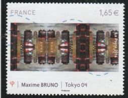 FRANCE MAXIME BRUNO TOKYO OBLITERE 2014 YT 4837    - - France