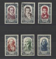 FRANCE.  YT N° 867/872  Obl  1950 - Usados