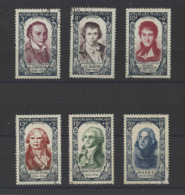 FRANCE.  YT N° 867/872  Obl  1950 - Francia