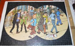 TINTIN VOL 714 POUR SYDNEY PUZZLE NATHAN DE 1000 PIECES 49X66,5cm Complet En état D'usage Voir Photos - Puzzles
