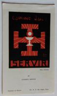 Image Scout Scoutisme 1946 Souvenir Promesse En L'église De Chaussée Saint Victor Le 18-7-1946 - Scoutisme