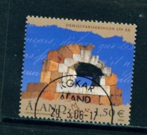 ALAND  -  2006 Demilitarisation 1.50E Used As Scan - Aland