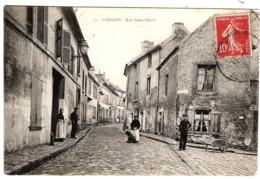 95 VAL D'OISE Animation Rue Saint-Denis De SANNOIS - Sannois