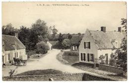 WIRWIGNES ( Près De Boulogne Sur Mer ) - 62 - La Place - Attelage Cheval Cariole - Autres Communes