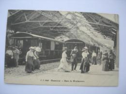 CPA  Chamonix. Gare Du Montenvers. Animation - Chamonix-Mont-Blanc