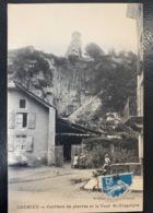 Crémieu. Carrière De Pierres Et La Tour St Hippolyte.  Vialatte - Crémieu