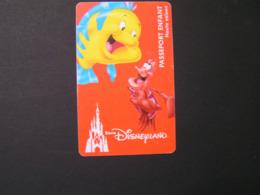 FRANCE Disney Passports.. - Toegangsticket Disney